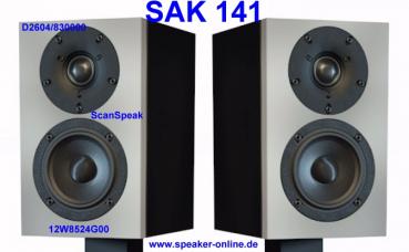 1 StartAirKit141 / SAK141 Lautsprecherbausatz
