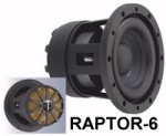 CarPower RAPTOR-6 HighTech-Kompaktsubwoofer